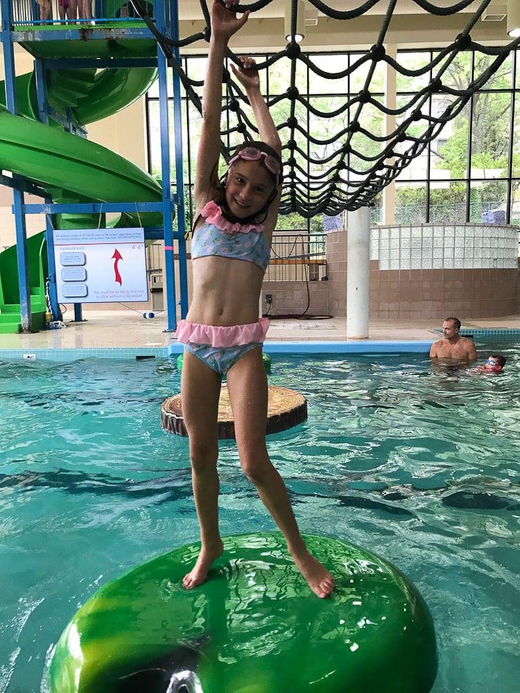 Northern Michigan Vacation Grand Traverse Resort pool area