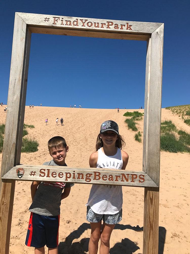 Northern Michigan Vacation--Sleepy Bear Dunes National Lakeshore