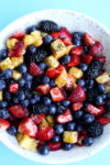 Summer Fruit Salad Recipe in a bowl