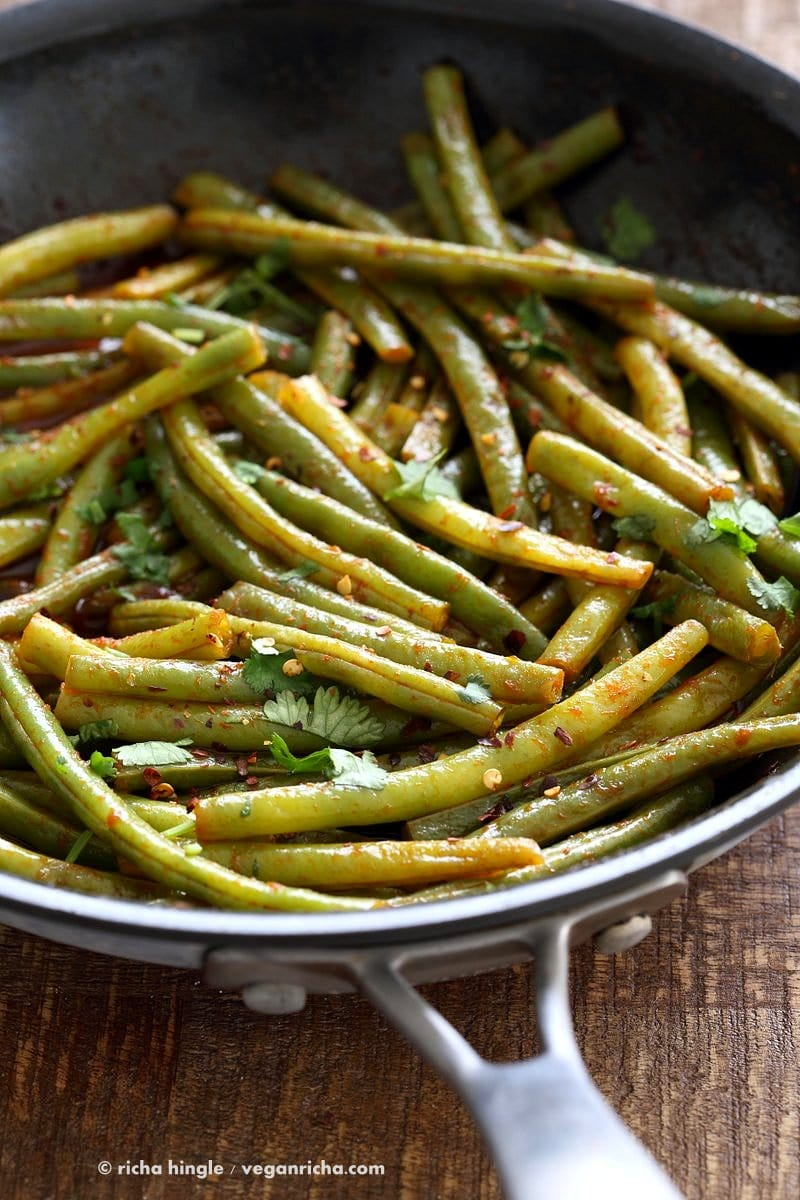 Green Bean Recipes--Red Curry Green Bean
