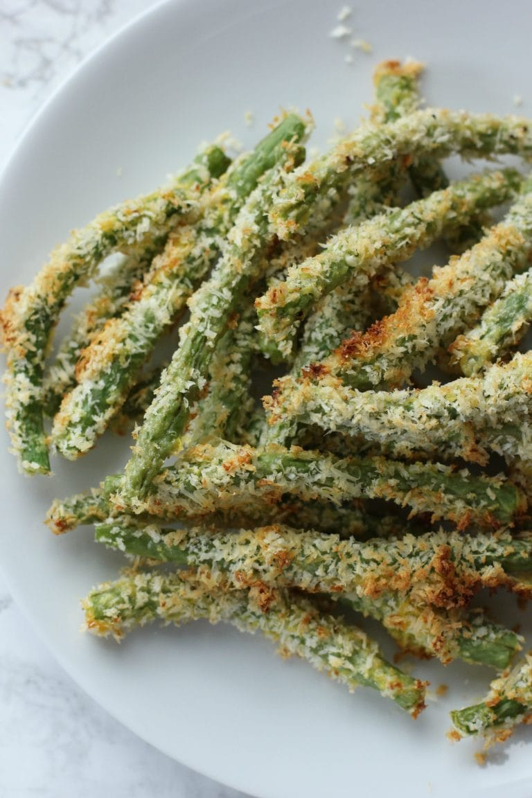 Green Bean Recipes--Crispy Oven Baked Green Beans