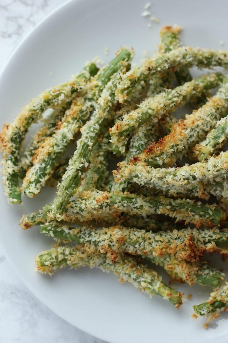 Green Bean Recipes--Crispy Oven Baked Green Beans