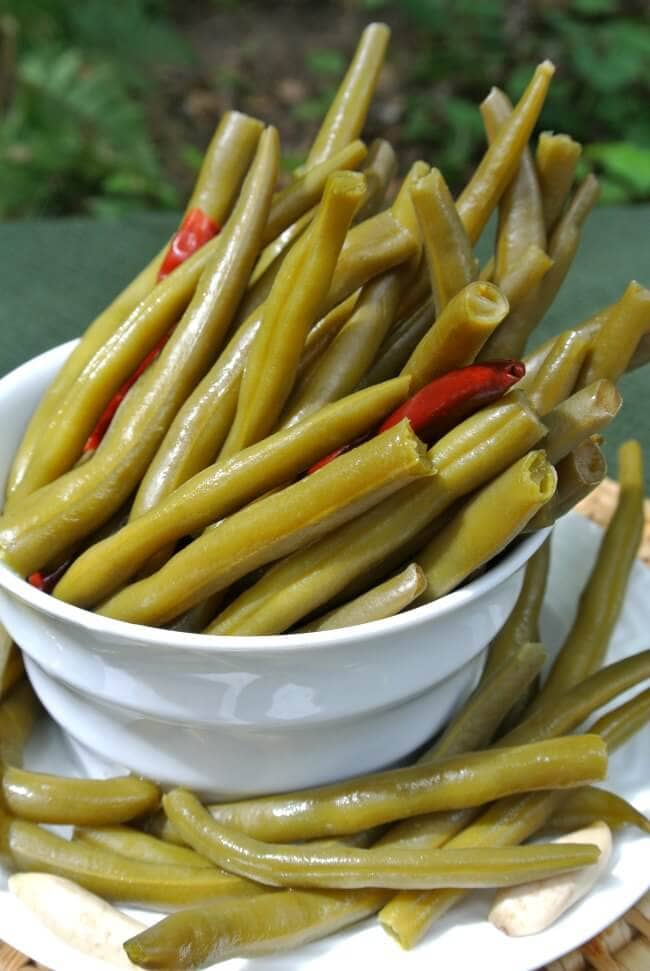 Green Bean recipes-pickled green beans