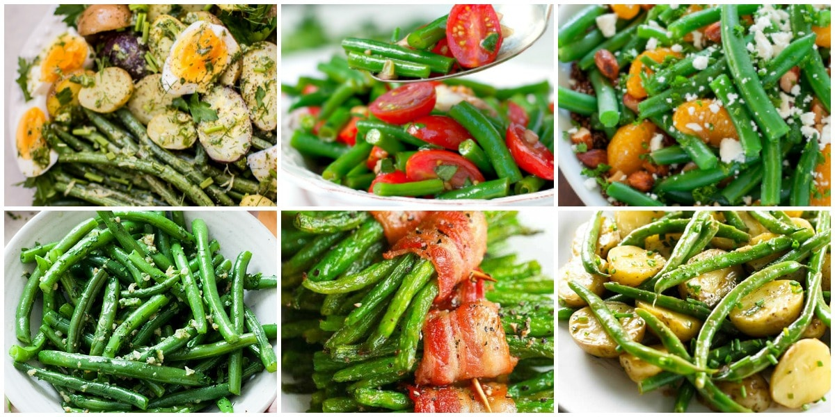 21 Interesting Green Bean Recipes to Try Collage