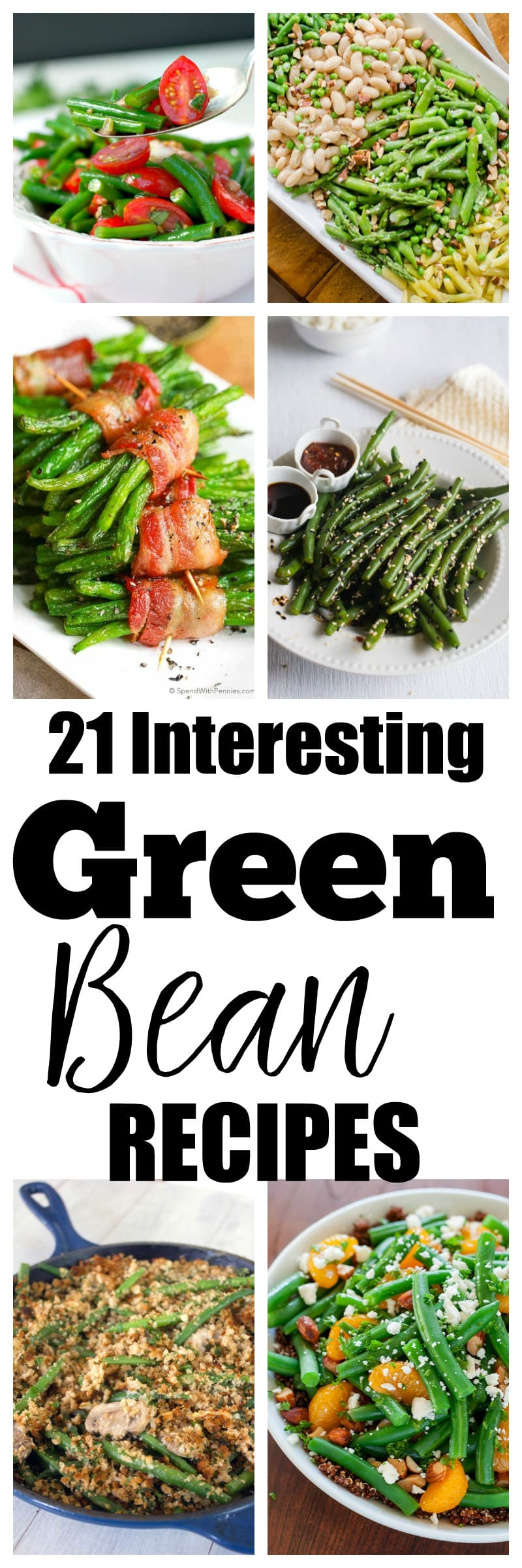 21 Interesting Green Bean Recipes to Try. Perfect for summer garden green beans OR something new for your Thanksgiving recipes menu! Thanksgiving food