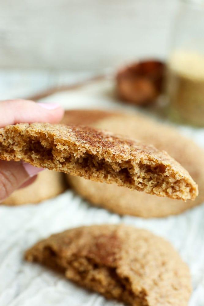 Low Carb Cinnamon Flaxseed Breakfast Cookies