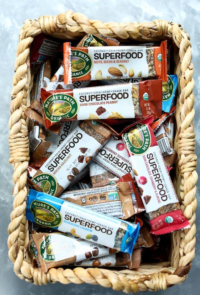 Nature's Path Superfood Bars variety