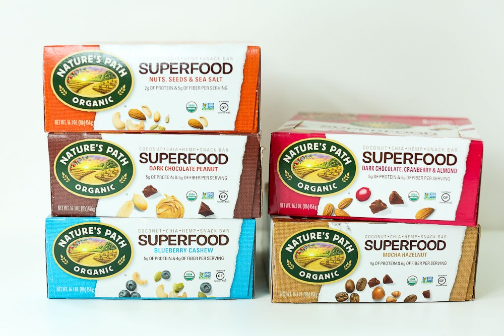 Nature's Path Superfood Bars boxes giveaway