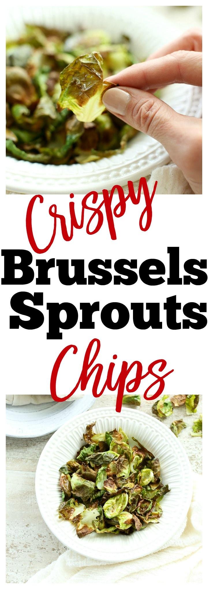 Crispy Brussels Sprouts Recipe. Gluten-free vegan healthy easy dinner side dish vegetables