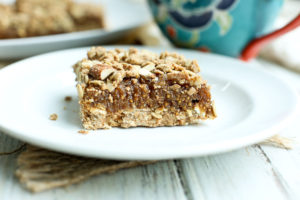 Oatmeal Fig Bars (Vegan and Gluten-Free)
