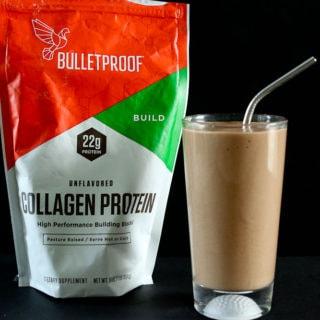 Café Mocha Collagen Protein Smoothie