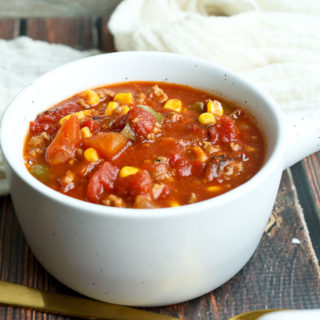 Slow Cooker Turkey Barbecue Chili