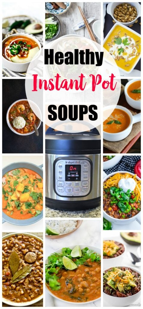 Healthy Instant Pot Recipes -Soups recipes