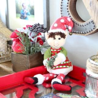 Meet Dingle, the Original Elf on the Shelf