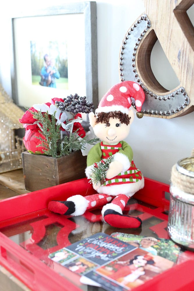 Dingle the original elf on the shelf