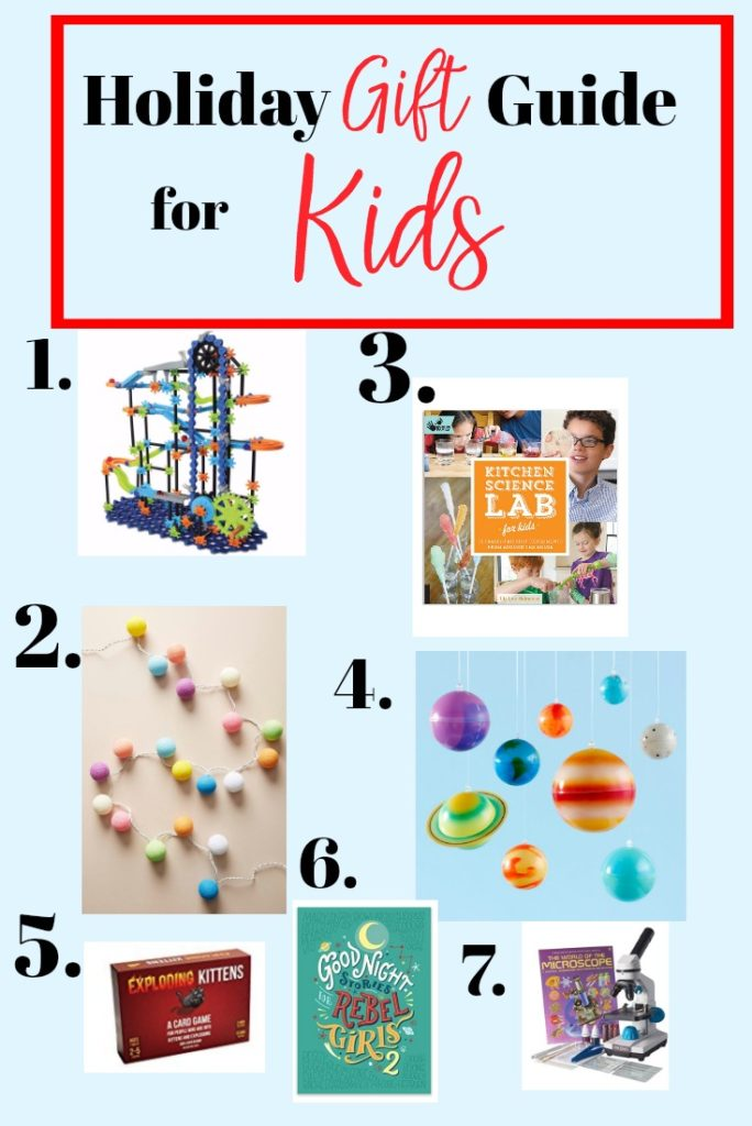 Holiday Gift Guide Kids Gift ideas for kids