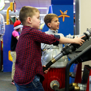 Luke's 6th Birthday Party at Chuck E Cheese's