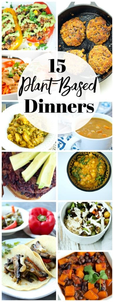 Plant Based Dinners Recipes #healthydinners #easydinners #vegandinners #plantbaseddinners