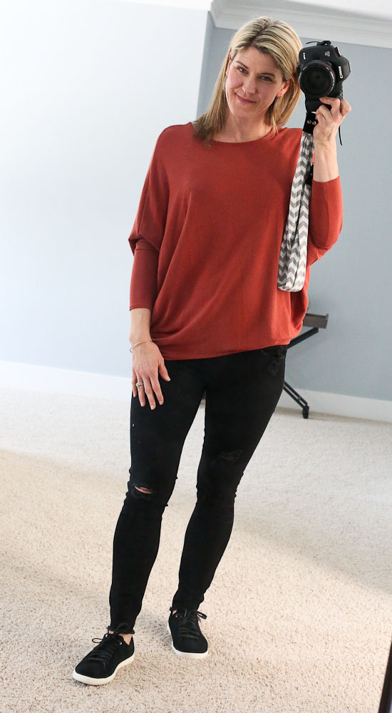 Stitch Fix Lately-Reid French Terry Knit Top