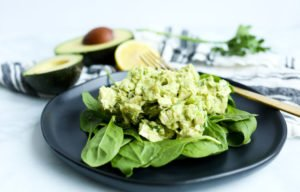 Healthy Avocado Chicken Salad (No Mayo)