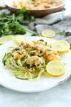 Shrimp Scampi Recipe #easy #healthy #lowcarb #keto #paleo #easyrecipes #dinnerrecipes #glutenfree #healthyrecipes #zoodles