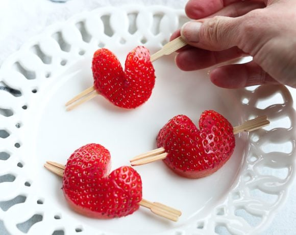 How to Make the Cutest Strawberry Hearts