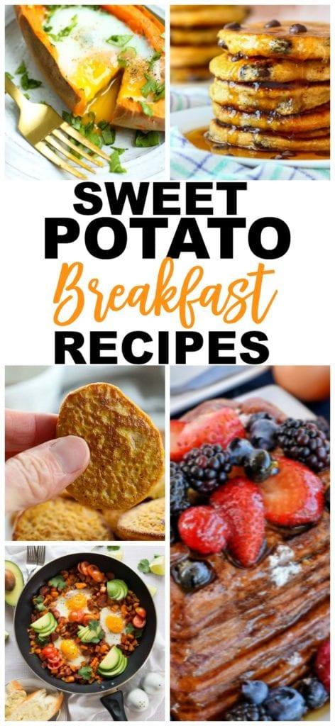 Sweet Potato Recipe Breakfast rEcipes #breakfast #healthy #sweetpotatoes