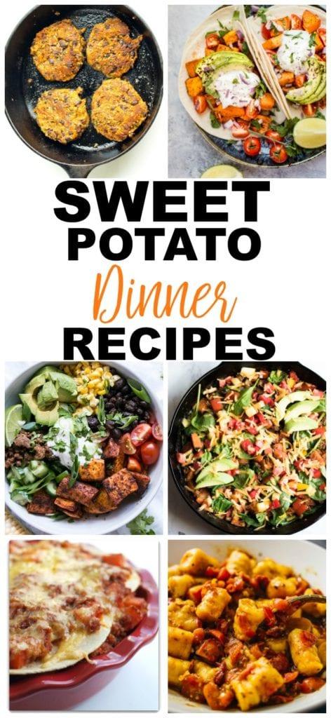 Sweet Potato Recipes Dinner Recipes #sweetpotato #recipes #healthy #dinner
