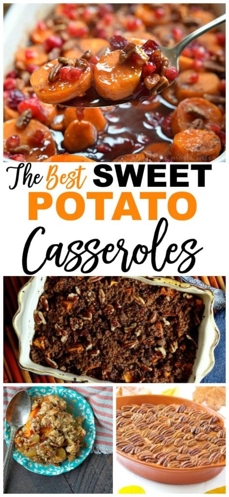 Sweet Potato Recipes casseroles #sweetpotatocasserole #thanksgiving #recipes #healthy