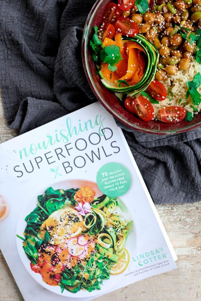 Nourishing Superfood Bowls Cookbook Korean BBQ Bento Bowl recipe