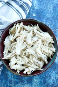 Crockpot Shredded Chicken for Easy Dinners