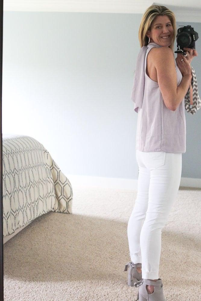 Stitch Fix Spring 2018- Hudson Barbara Scissor Hem Skinny jean