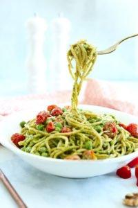 Arugula Pesto Pasta Recipe