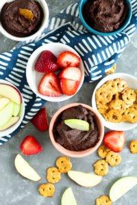 Brownie Batter Dessert Hummus Recipe