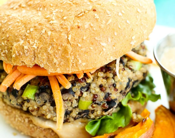 Sun Basket Review healthy meal kit service vegan burger