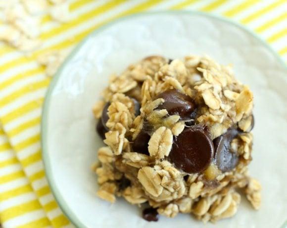 3-Ingredient Banana Cookies