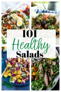 101 Healthy Salad Recipes for Everyone