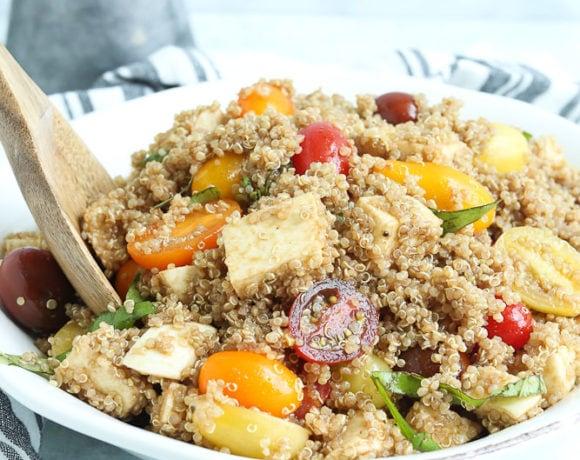 Quinoa Caprese Salad Recipe