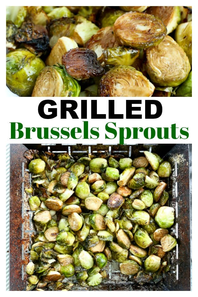 Grilled Brussels Sprouts Recipe #summer #vegetables #grilling #vegan #glutenfree #easy #grill #grillrecipes