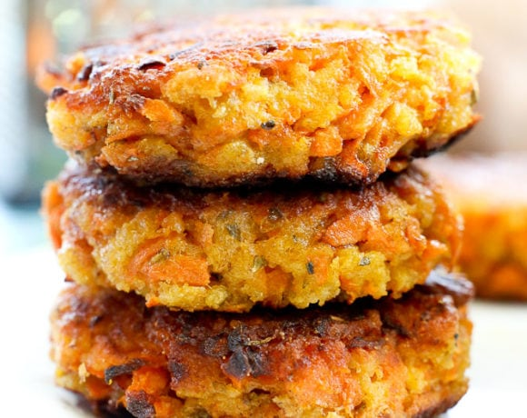 Sweet Potato Fritters Recipe with Avocado Dipping Sauce