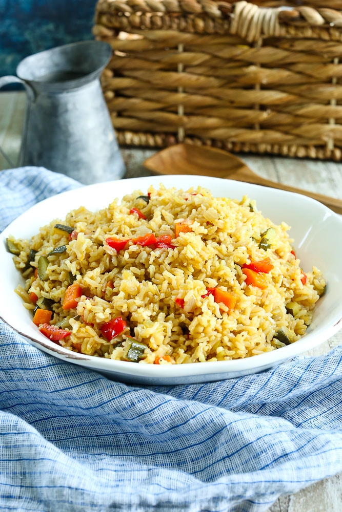 Perfect Rice Pilaf with Vegetables Recipe