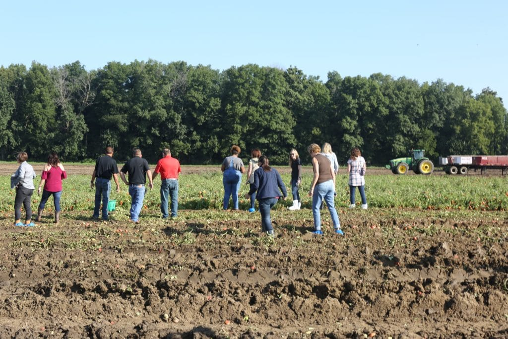 Are Canned Foods Nutritious (bloggers touring triple s farm in Indiana)