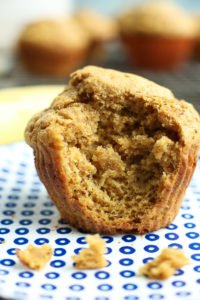 Simple Banana Muffins recipe with amazing texture