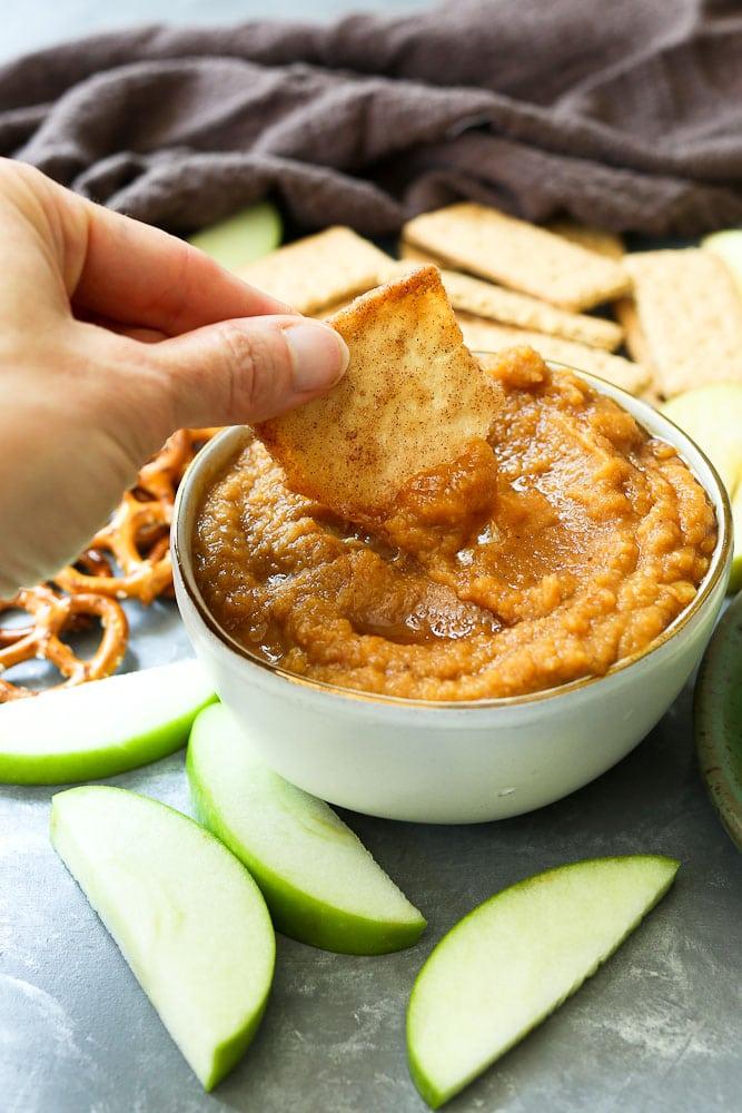 Easy Pumpkin Hummus Recipe