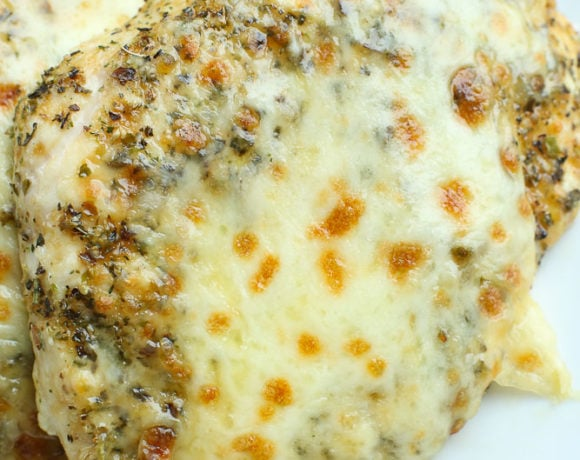 Easy Italian Baked Chicken Breast Recipe