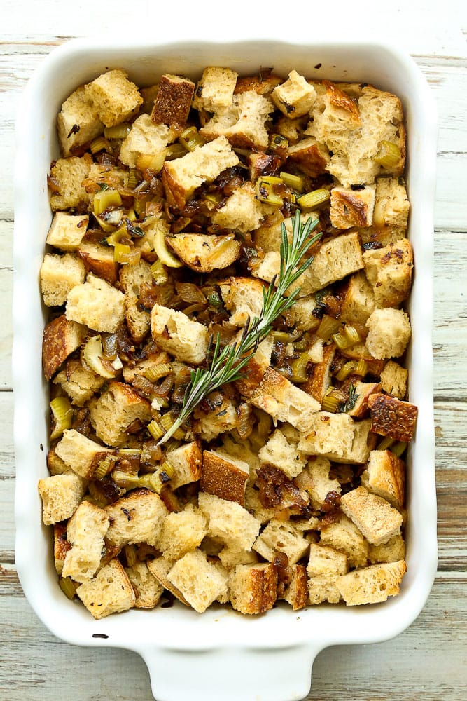 Easy Sourdough Stuffing Recipe