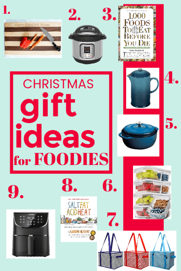 Christmas Gift Ideas healthy foodie