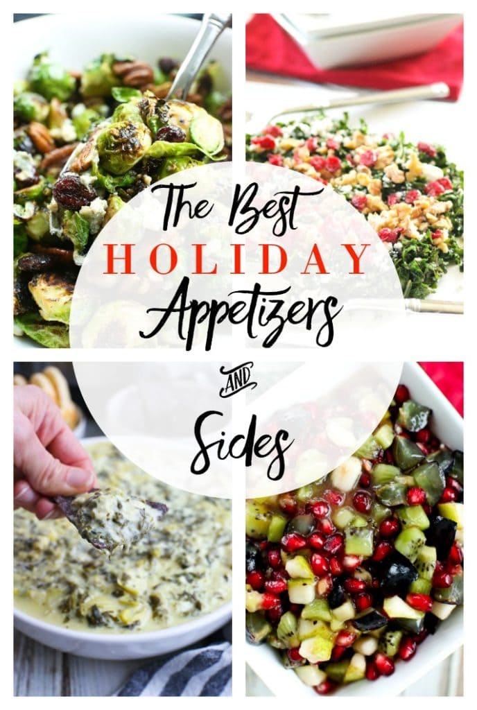 The BEST Holiday Appetizers and Sides