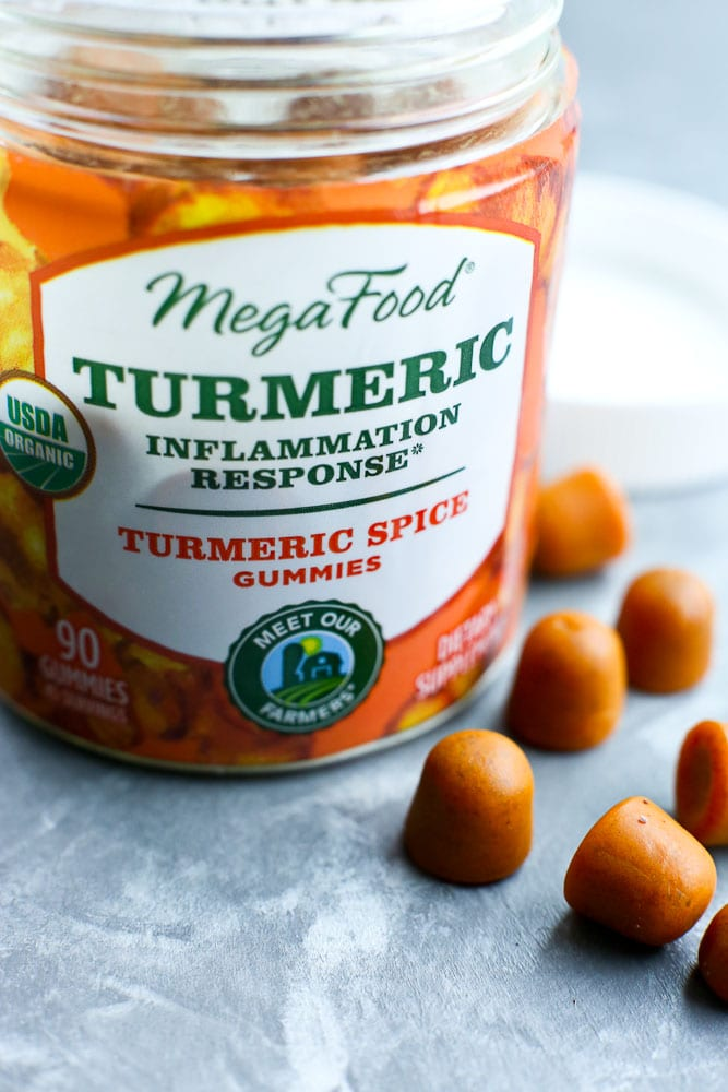 turmeric MegaFood Gummies for healthy inflammation