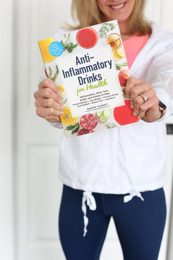 Anti-Inflammatory Drinks for Health Book Happy Healthy Mama